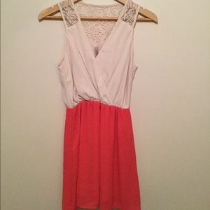 Color-block summer dress